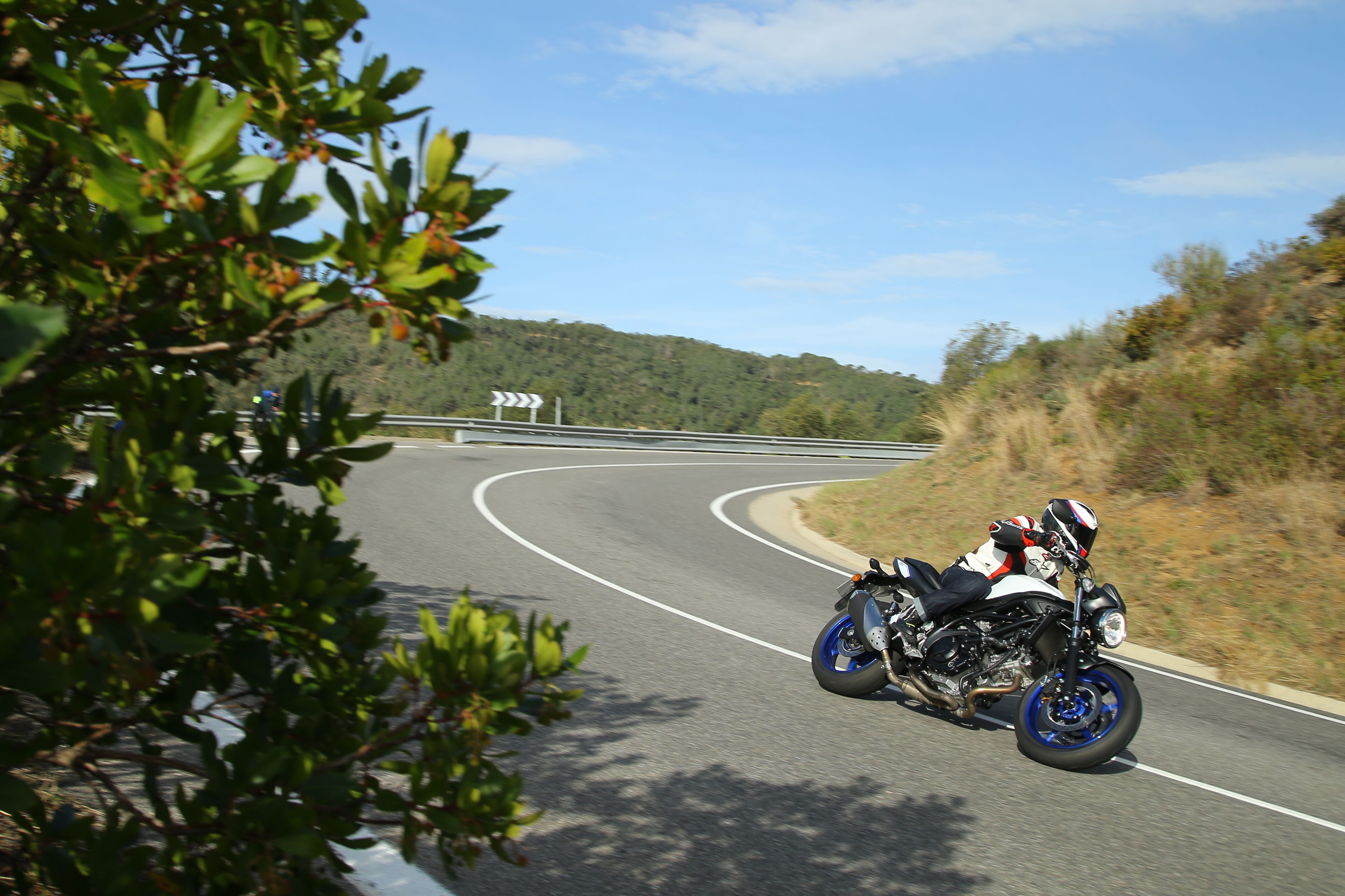 Suzuki SV650 in Spain