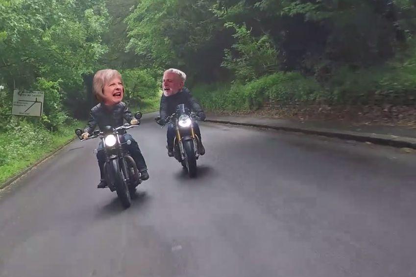 Theresa May & Jeremy Corbyn