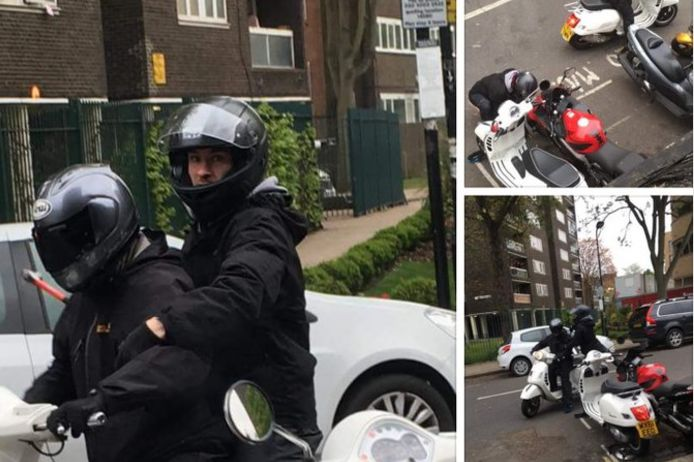 Police testing new tagging spray to catch scooter gangs