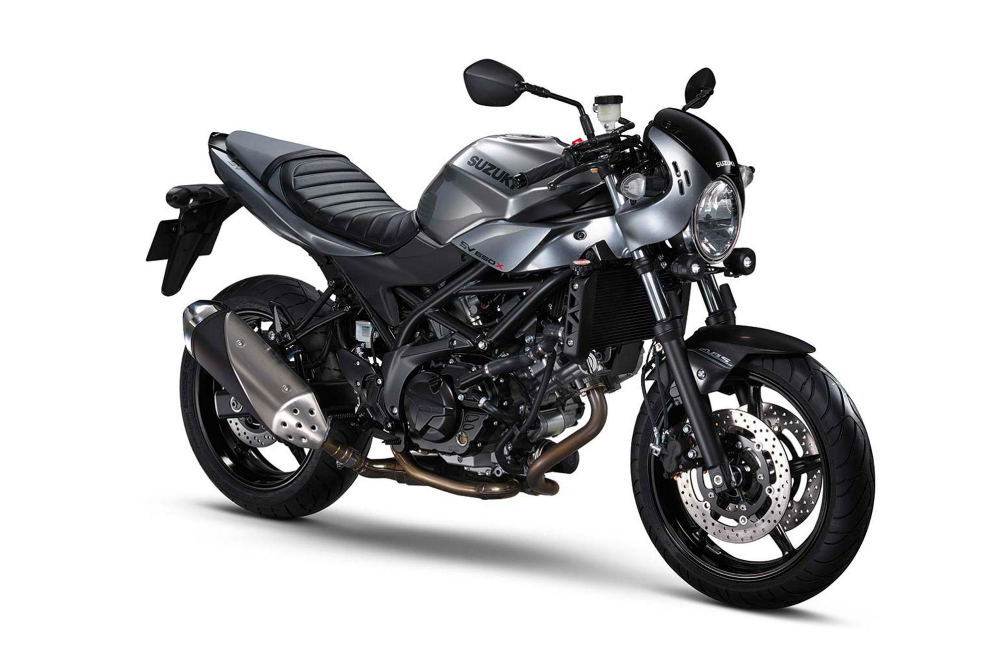 Suzuki reveals SV650X