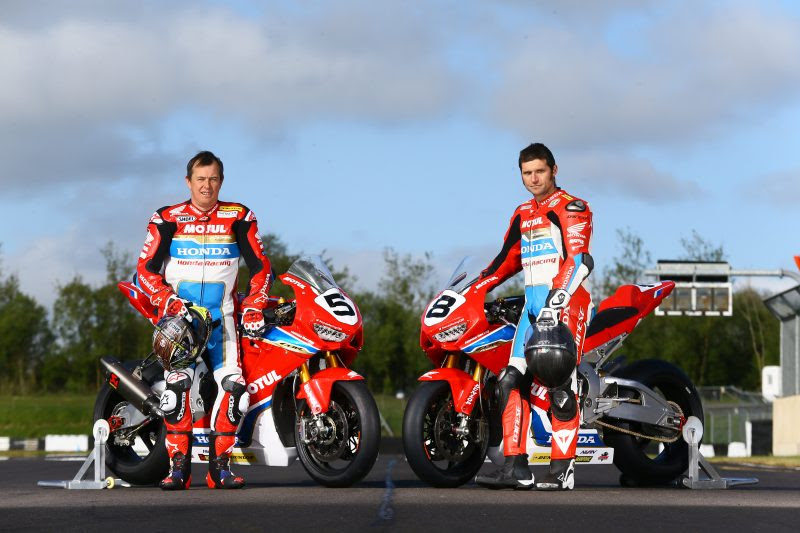 John McGuinness, Honda Racing, [Credit: Honda Racing]