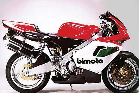 To The Crusher - Bimota V-Due