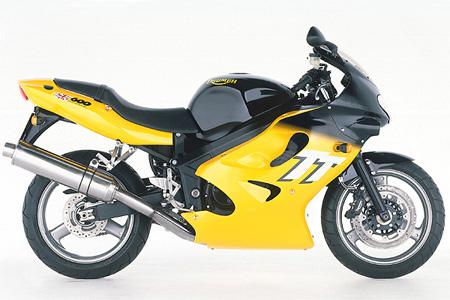 used review triumph tt600 daytona 600 650 visordown rh visordown com Triumph TT600 Parts 2000 Triumph Motorcycle Parts