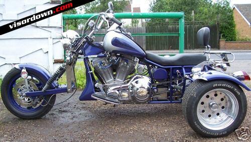 Billy connolly 39 s trike for sale on ebay visordown for Motor trikes for sale uk