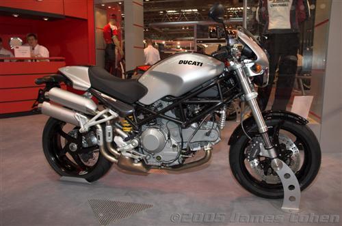 NEC 2005: Ducati Bike Photos