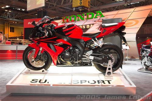 NEC 2005: Honda Bike Photos