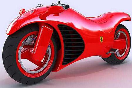 The V4 Ferrari-engined motorcycle | Visordown
