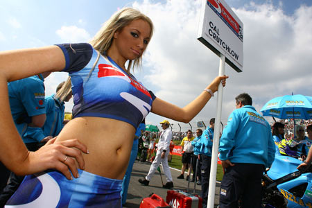 british superbike grid girls apply Visordown Motorcycle News