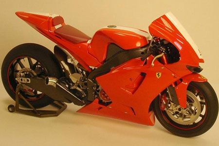 Ferrari FXX motorcycle to compete in 200... | Visordown