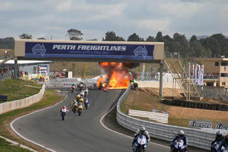 Judd Greedy Crash Visordown Motorcycle News