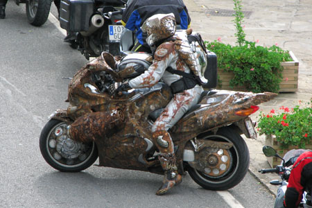 Check Out This Mad Max Style Vfr800 Visordown