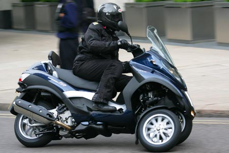 piaggio mp3 scooter Visordown Motorcycle News