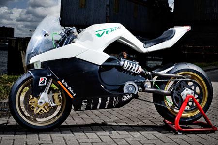 Maarten Timmer Electric Motorcycle Concept Visordown News
