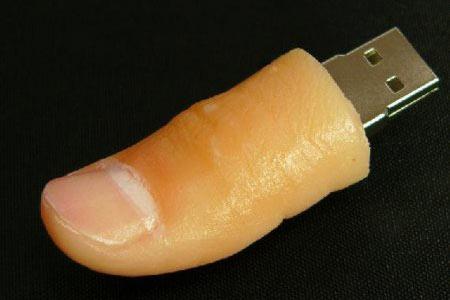 prosthesis thumb drive
