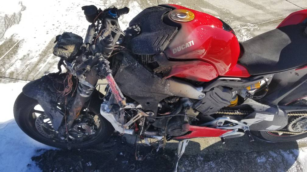 Ducati North America take action after Panigale V4 fire
