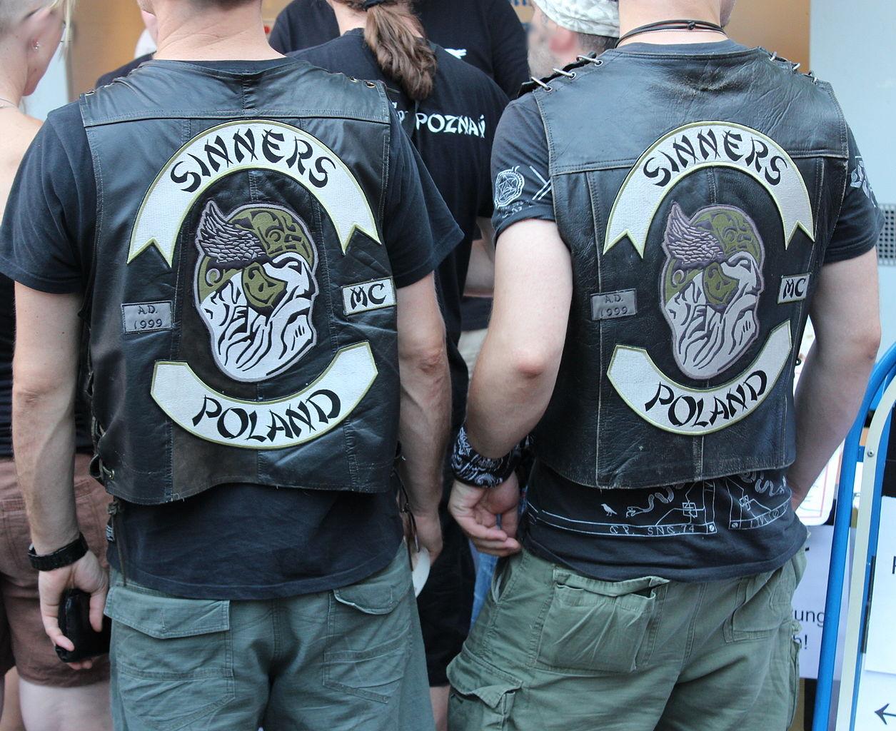 Members of Sinners motorcycle club, Poland