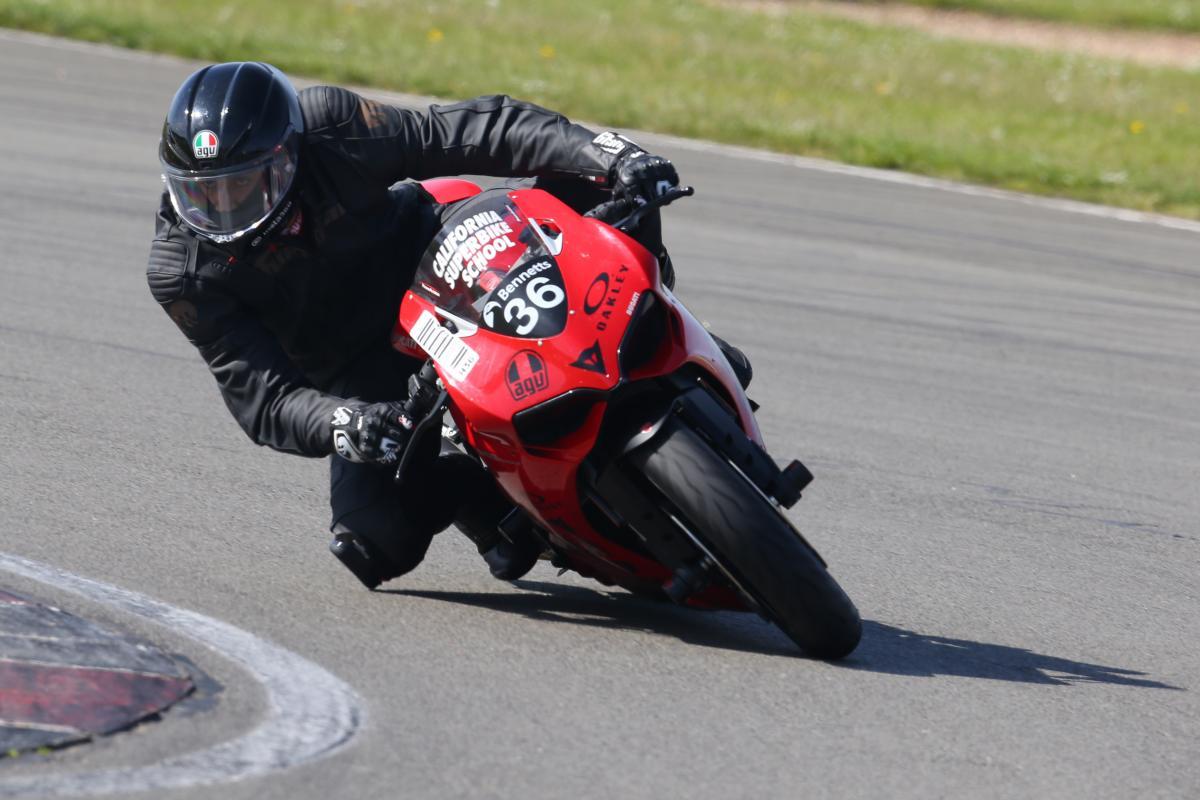 Ducati Panigale 959 Donington Track Test | Visordown