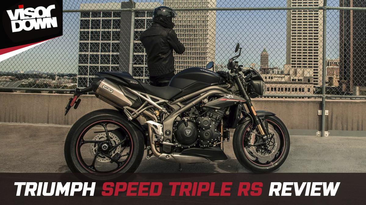 Terrific Triumph Speed Triple Rs 2019 Review Visordown Ibusinesslaw Wood Chair Design Ideas Ibusinesslaworg