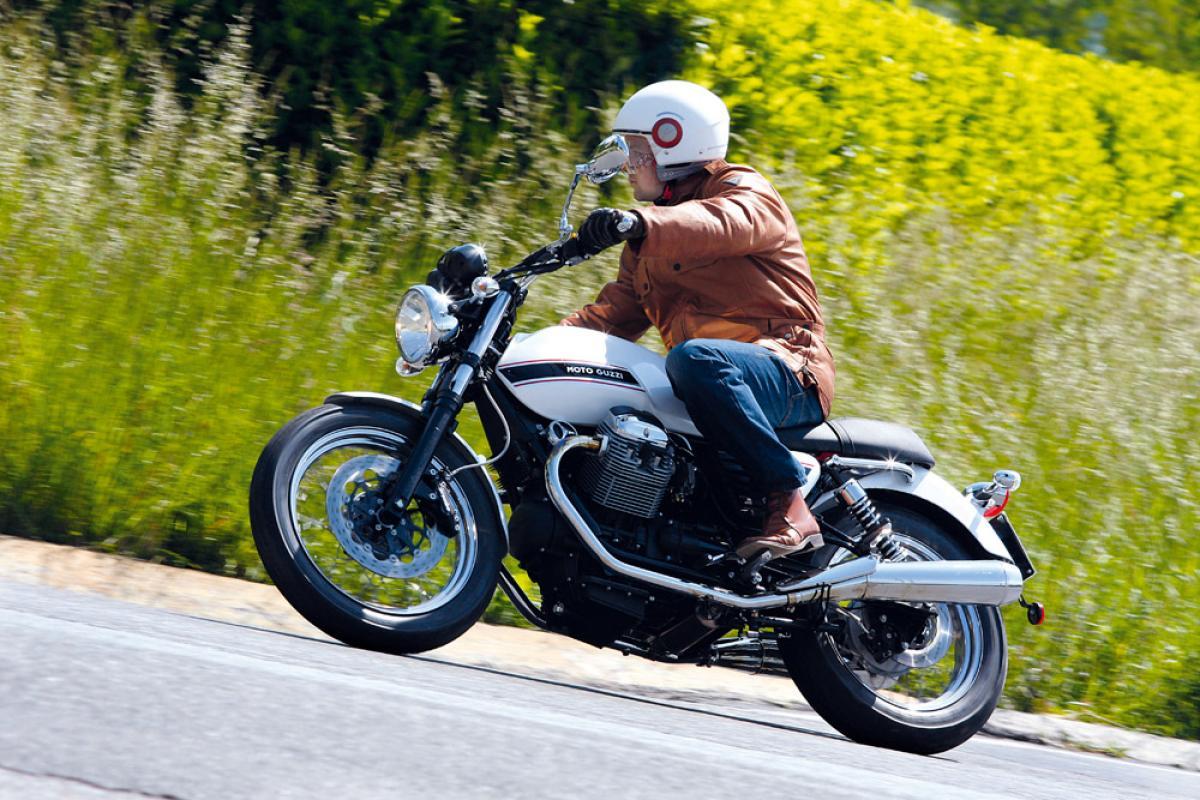 First ride: Moto Guzzi V7 Classic road test review | Visordown
