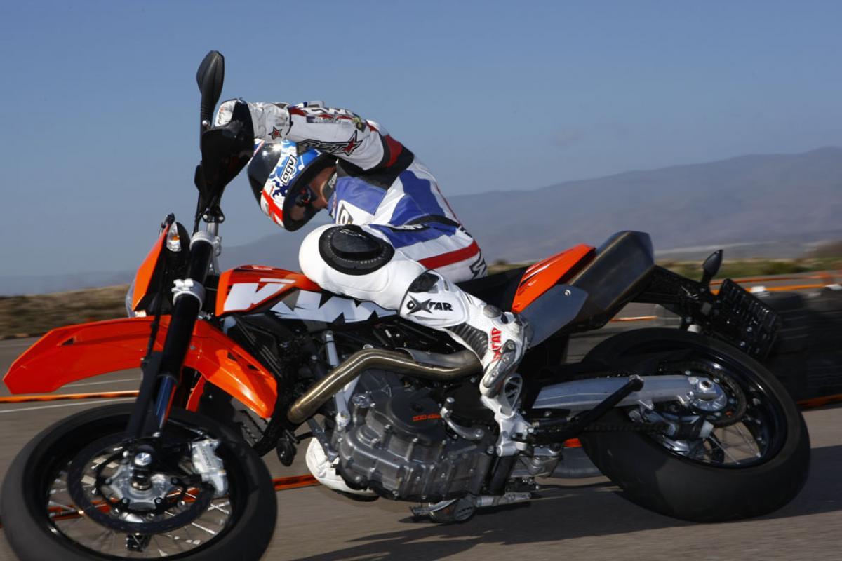 First Ride: KTM 690 Enduro & SMC   Visordown