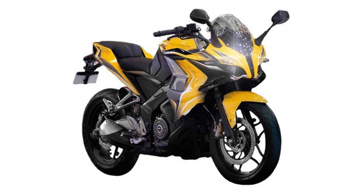 Bajaj Pulsar 400 Sports Bike Revealed Visordown