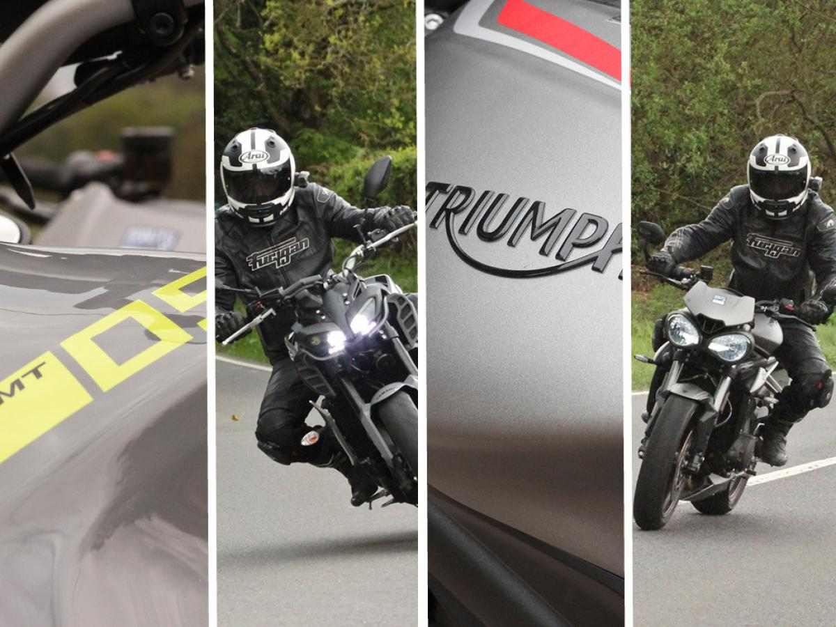 Triumph Street Triple 765 RS vs Yamaha MT-09 | Visordown