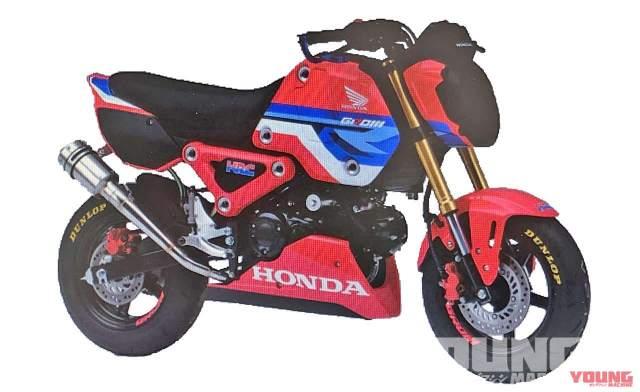 Honda Grom scoop [credit: Young Machine]