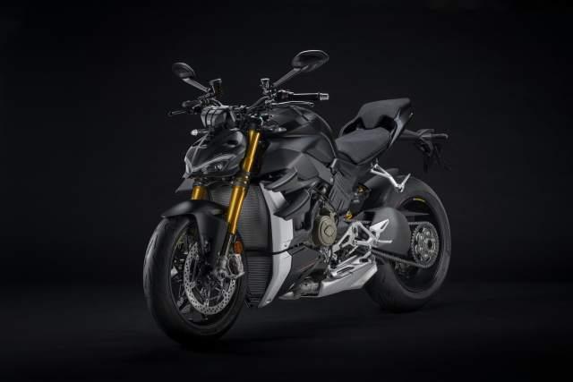 Dark Stealth Ducati Streetfighter V4 S