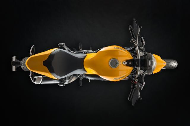 Ducati reveals updated Monster 821