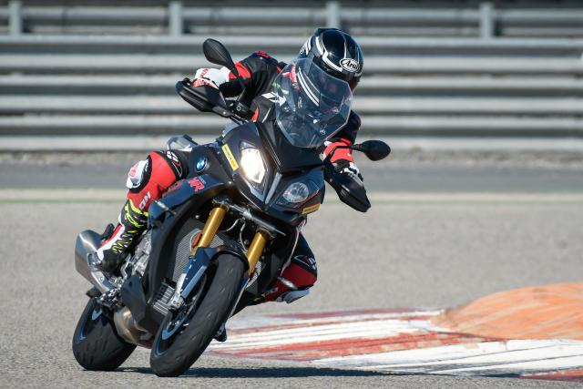 S1000 XR on track
