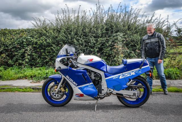 Tony Middlehurst and GSX-R1100