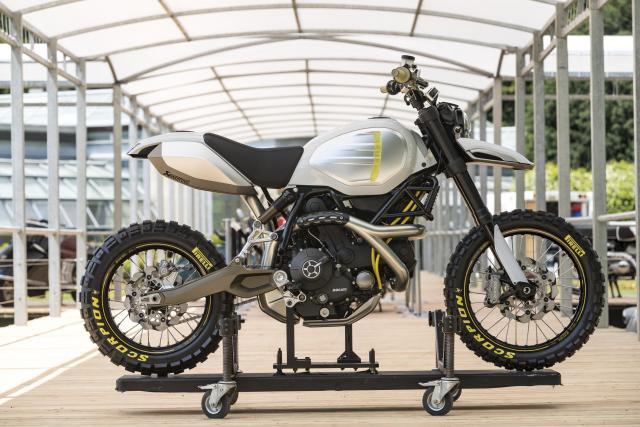 Ducati Scrambler Desert Sled concept