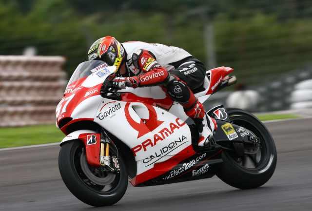 Chaz Davies - Pramac Ducati MotoGP