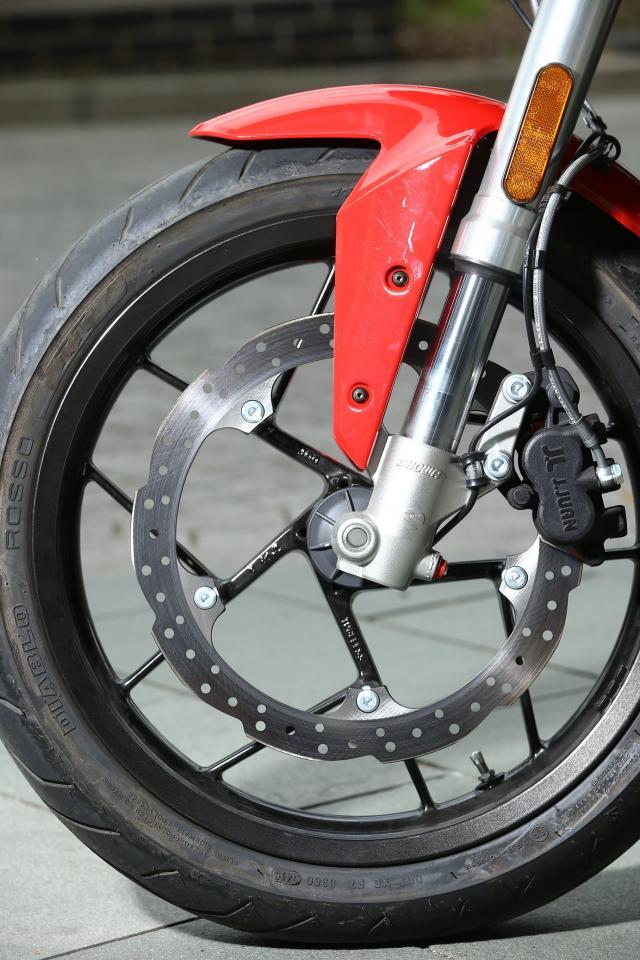 Zero SR brakes