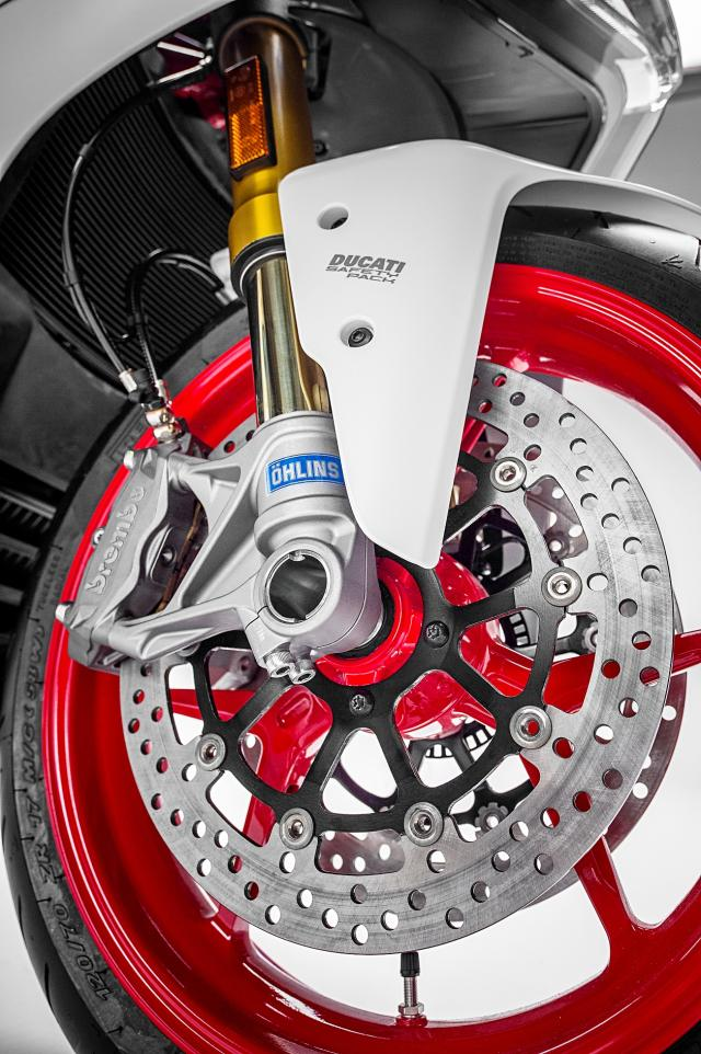 Ducati SuperSport brakes