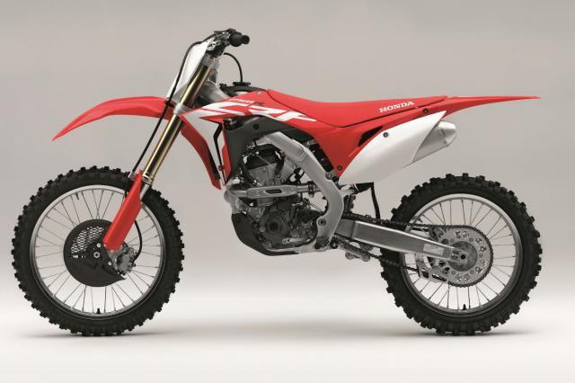 Honda unveils new 2018 CRF250R