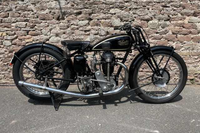 1932 Velocette KSS Mk1