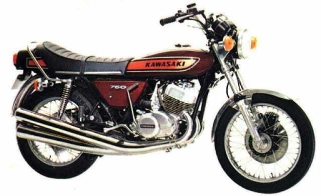 1971 Kawasaki H2 Mach IV