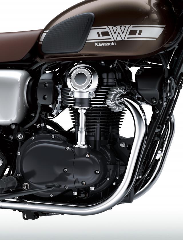 2019 Kawasaki W800 engine