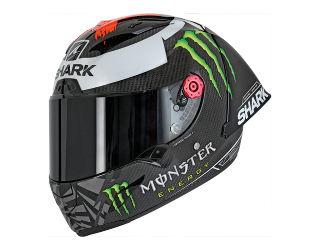 Jorge Lorenzo Winter Test Race R Pro Shark helmet