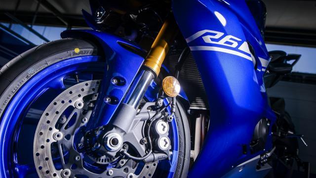 2017 Yamaha YZF-R6 brakes