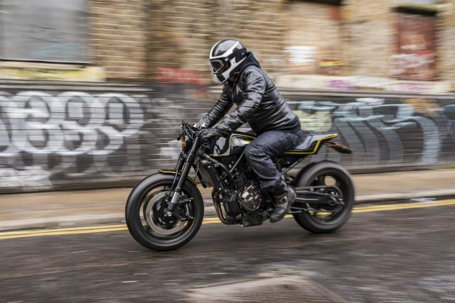 Custom Kit Turns XSR700 Into Scrambler Or Cafe Racer