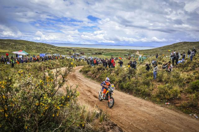 Bad weather cuts short Dakar Stage 6