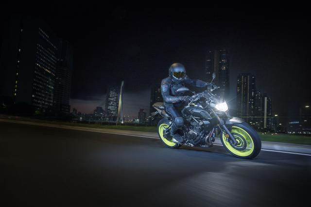 Yamaha unveils 2018 MT-07 at EICMA