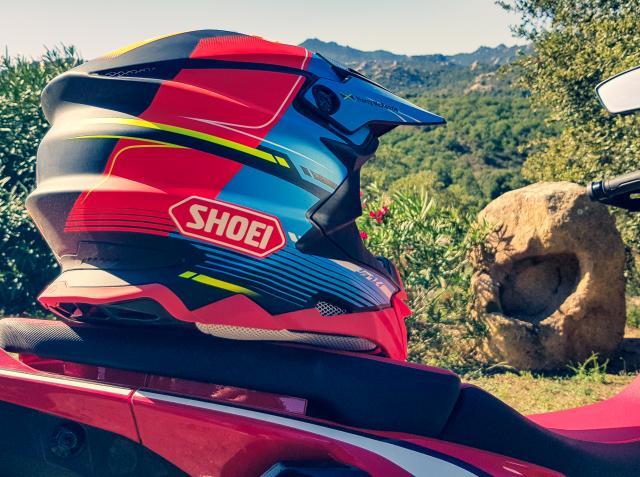 Shoei VFX-WR motorcycle helmet   Review