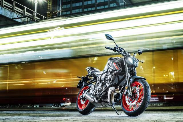 2021 Yamaha MT-07 static