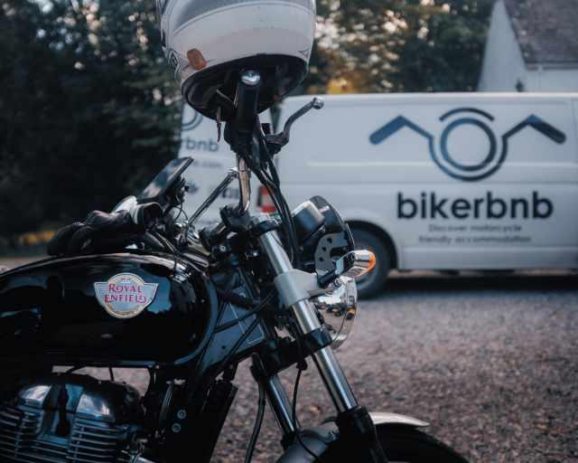 royal enfield bikerbnb