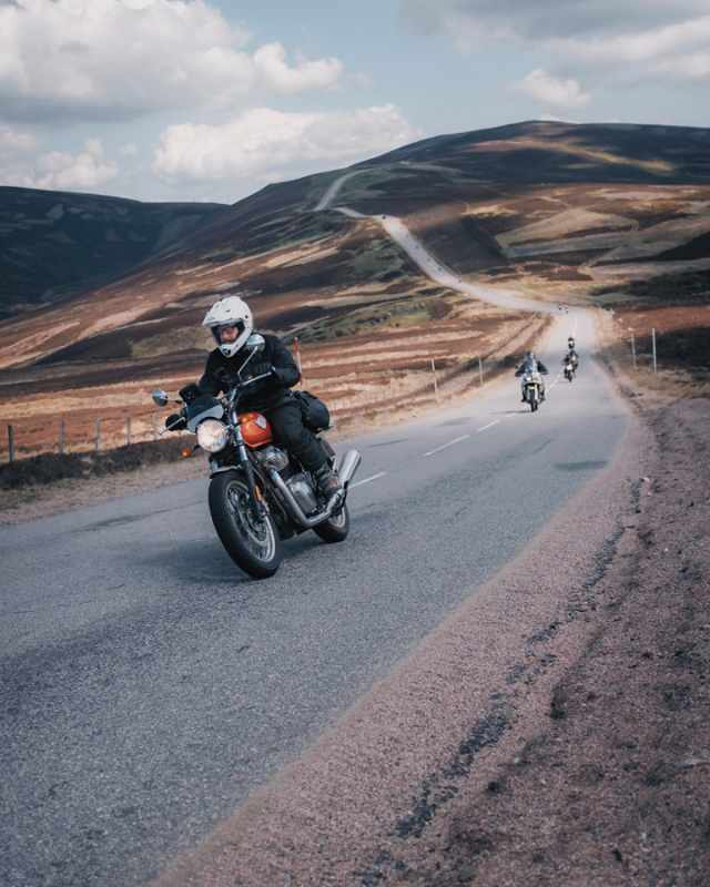royal enfield scotland riding
