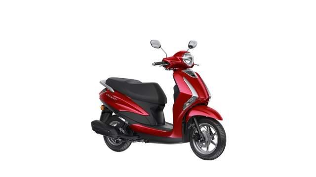 A Yamaha scooter