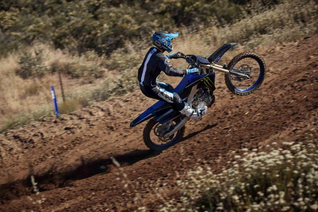 The Yamaha YZ250F Monster Energy Racing Edition